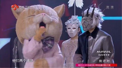 吳青峰以「沒事別老學我叫」參賽《蒙面唱將猜猜猜第三季》,圖/翻攝自《蒙面唱將猜猜猜》YouTube