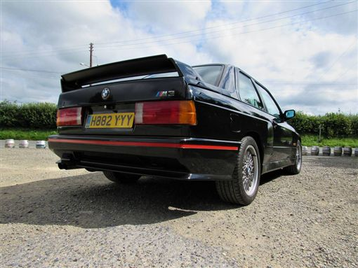 BMW E30 M3 Sport Evolution(圖/翻攝網路)