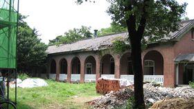 成大力行校區前身為原日軍臺南衛戍病院 圖翻攝自維基百科