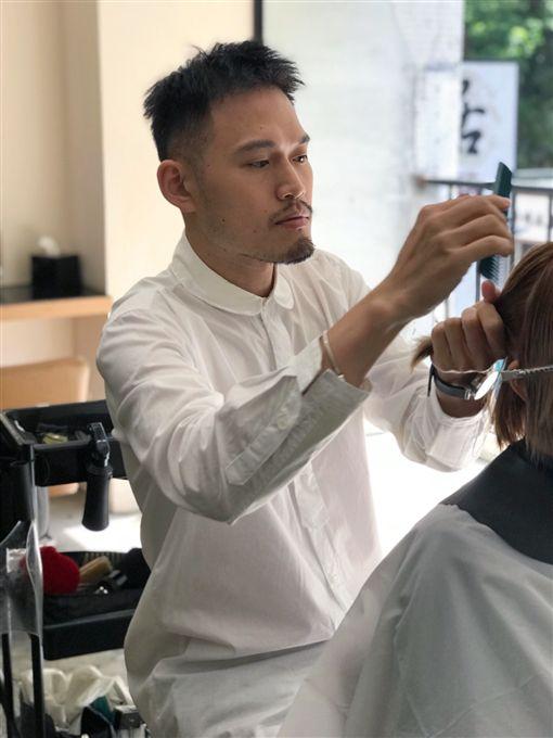 奪「美髮界奧斯卡」冠軍,台灣髮型師唐威讓世界看見台灣,台灣之光(記者郭奕均攝影)