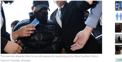 南韓家暴夫金姓男子殺死前妻,3女兒請願求處死刑。(圖/翻攝自《koreaherald》)