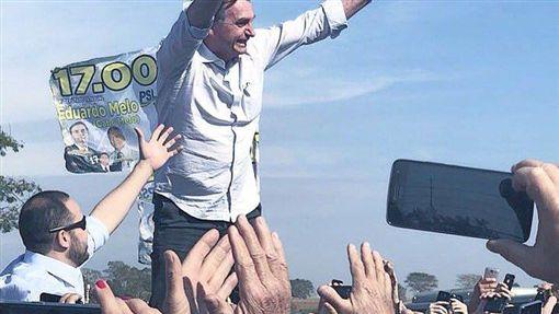 巴西 總統候選人 Jair Bolsonaro圖/翻攝自Jair Bolsonaro Twitterhttps://twitter.com/jairbolsonaro