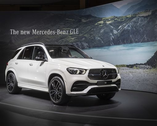 Mercedes-Benz GLE(圖/車訊網)