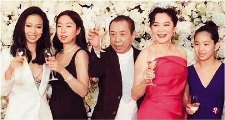 林青霞&女兒邢愛林(圖/微博)