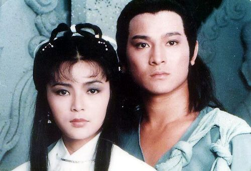 劉德華與陳玉蓮版本的《神鵰俠侶》。(圖/翻攝自微博)