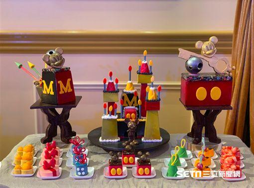 米奇90週年,香港迪士尼,米奇,迪士尼。(圖/記者馮珮汶攝)