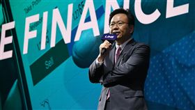 LINE要來台開純網銀LINE Biz Plus北亞金融董事總經理劉奕成告訴中央社記者,通訊軟體LINE為了在台灣開辦純網路銀行,正籌備新公司,希望幫助年輕人培養好的理財知識。(LINE提供)中央社記者吳家豪傳真 107年7月15日