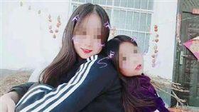 中國洛陽市嵩縣,17歲的郭姓少女,帶著10的妹妹騎電動車到水庫邊,然後跳水輕生。(圖/翻攝自微博)