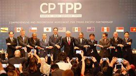 11國參與的跨太平洋夥伴全面進步協定CPTPP。(圖/路透社/達志影像)