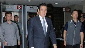 三中案開庭審理 前總統馬英九赴台北地院/記者邱榮吉攝影