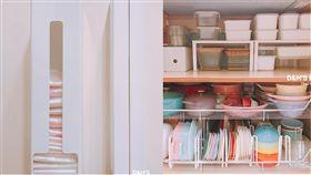 收納術,垃圾袋,二寶媽,收納,達人(圖/翻攝自臉書二寶媽療癒系之變態收納)