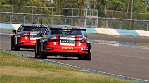 Audi RS3 LMS TCR比賽車(圖/車訊網)