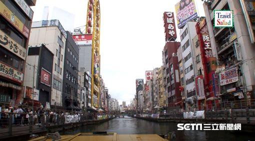 日本朝日電視台道頓堀影片截取照片(業配)(圖/朝日電視台提供影片之截圖)