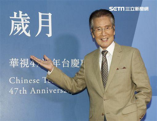 華視47週年台慶暨台慶專刊發表會藝人石英。(記者林士傑/攝影)