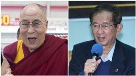 達賴喇嘛(左)與李遠哲(合成圖/資料照、翻攝自達賴喇嘛臉書)