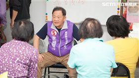 無黨籍台北市長候選人李錫錕與士林地區老人共餐 競選辦公室提供