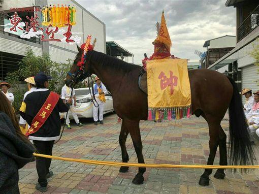 東港東隆宮,東港迎王平安祭典遶境,溫府千歲,王馬