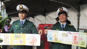台中花博紀念郵票發行中華郵政公司31日發行花博紀念郵票,以台中地區盛產的花卉包括百合、文心蘭、劍蘭、火鶴等及花博吉祥物為題材。中央社記者郝雪卿攝  107年10月31日