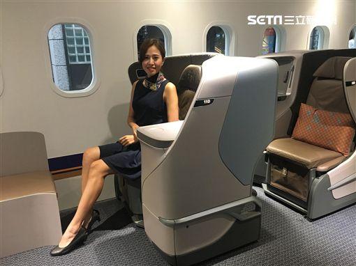 波音787-10,夢幻客機,新加坡航空,/記者蕭筠攝影