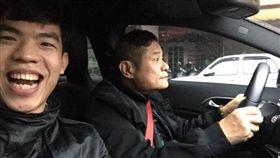 許效舜,廖峻,廖智翔,司機(圖/翻攝自爆費公社)