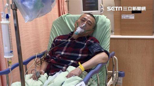 安迪罹患食道癌第三期,目前積極做化療跟電療,希望可以免除開刀。(圖/陳慧娥提供)