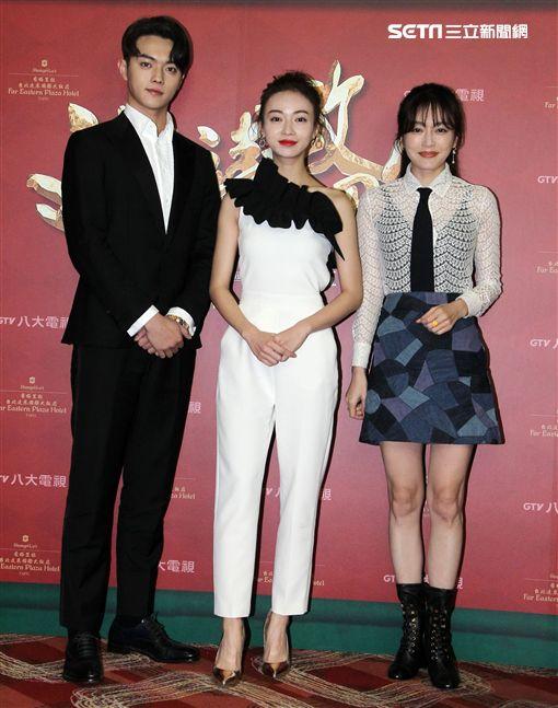 「延禧攻略」演員秦嵐、吳謹言、許凱粉絲見面會。(記者邱榮吉/攝影)
