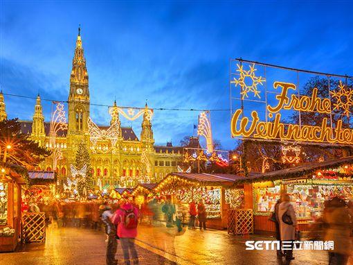 耶誕歐洲市集。