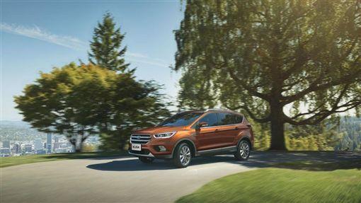 2018年式新世代家庭智能休旅Ford Kuga。(圖/Ford提供)