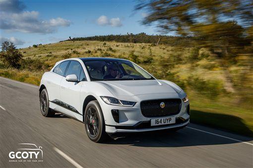 Jaguar I-PACE純電動高性能跑旅榮獲2019年德國年度風雲車大獎。(圖/Jaguar提供)