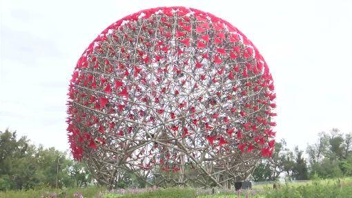 地表最強! 697朵巨型機械花譜樂曲