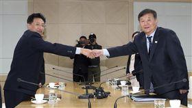 南北韓達共識 共同申辦2032年奧運。(圖/美聯社/達志影像)