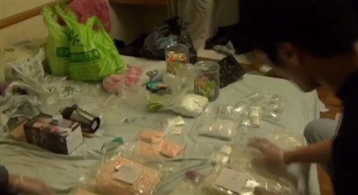 台北,毒品危害防制條例,類大麻,安非他命,海洛因,竹聯幫。翻攝畫面