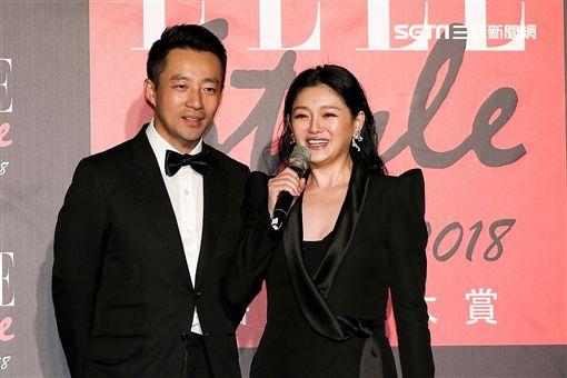 大S偕同汪小菲出席ELLE風格人物大賞。(圖/記者林士傑攝影)