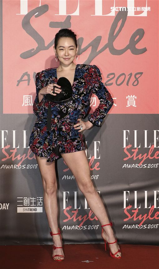 ELLE Style Awards風格人物大賞全能天后獎小S。(記者林士傑/攝影)