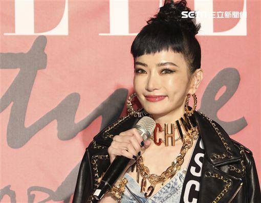 ELLE Style Awards風格人物大賞謝金燕。(記者林士傑/攝影)