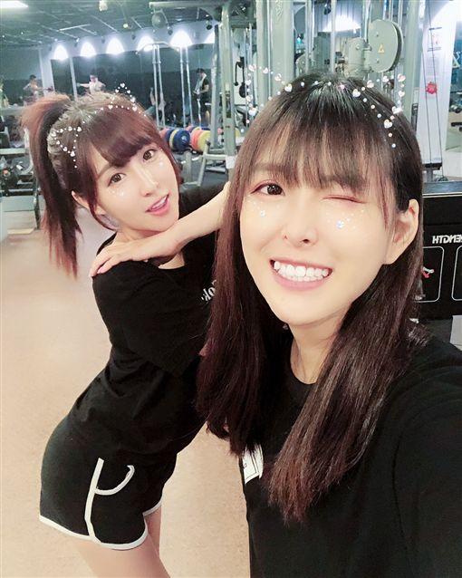 台北,Lena,Miss.布丁,姊妹,直播主,Youtuber。翻攝自IG:lenaq.www