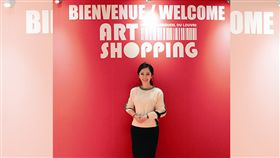 法國,辜琪鈞,羅浮宮,藝術家,台灣之光。翻攝畫面
