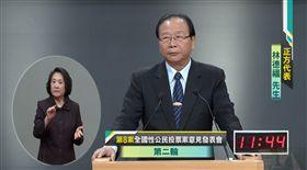 公投辯論第八案正方林德福反方曾文生,中選會直播