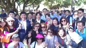 九合一選舉,林佳龍,賴清德,花博,台中 (圖/翻攝自臉書)