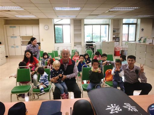台北,中正二,天堂愛教育協會,兒童。翻攝畫面