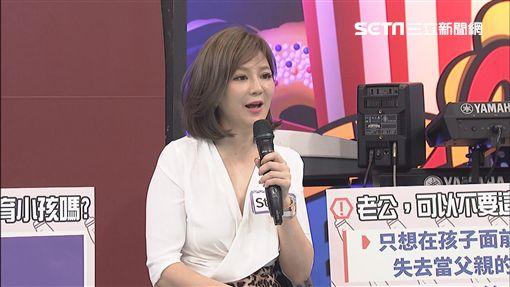 梁赫群與老婆Stacey 圖/中天電視提供