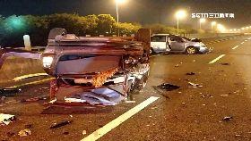 國道五車撞1200