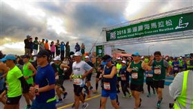 菊島澎湖跨海馬拉松今年是第2屆舉行。(圖/主辦單位提供)