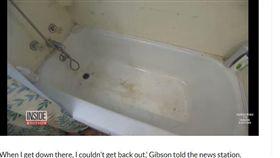 美國,獨居,浴缸,受困,洗澡水(圖/翻攝自Meaww)