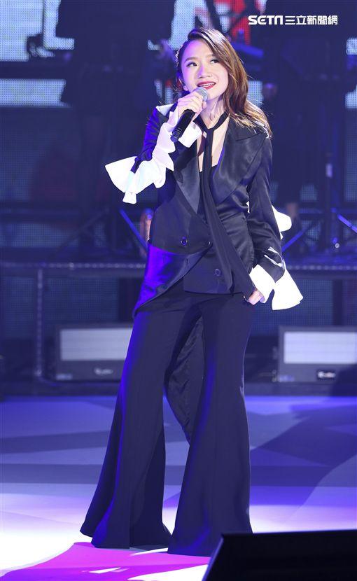 陶晶瑩的1999年演唱會。(記者林士傑/攝影)