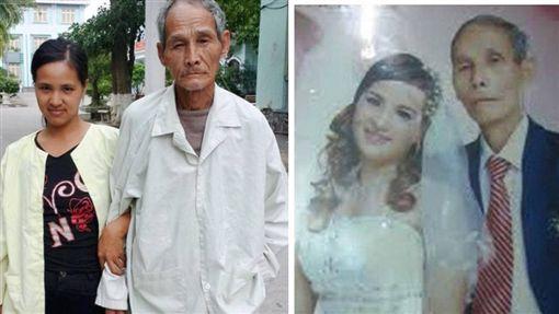 越南一名35歲女子阮氏碧(Nguyễn Thị Bích),8年前認識一名70歲退役軍人Ngô Thanh Học,當時她被對方深深吸引,27歲就嫁給他。婚後他們生下3個孩子,但老公的軍人年金根本不敷使用,再加上他的身體越來越差,阮氏碧還要替他把屎把尿。對此,她後悔地說,「如果讓我再次選擇,我不會嫁給他!」(圖/翻攝自kenh14)