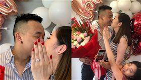 澳洲,求婚,表妹,婚戒 推特