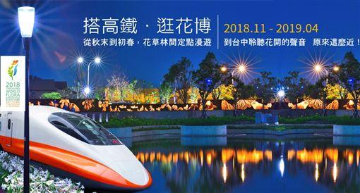 台中花博,高鐵,台灣高鐵