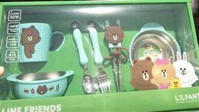好市多,餐具,熊大,LINE(圖/翻攝自《Costco好市多 商品經驗老實說》臉書)