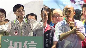 高雄市長首場辯論在三立! 11/19晚間登場 陳其邁:擔心韓國瑜不會來